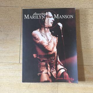 Dissecting Marilyn Manson Biografi Buku Import Marilyn Manson By Gavin Baddeley