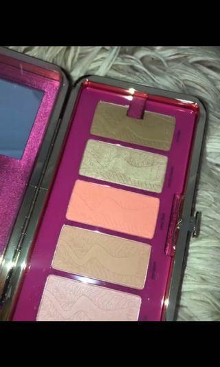 Tarte clay blush palette and clutch
