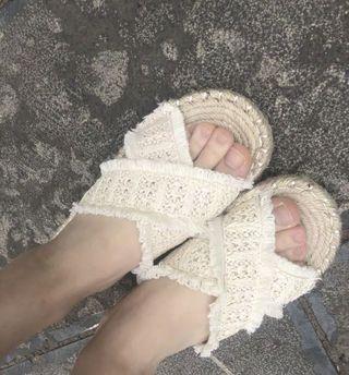 編織 拖鞋 涼鞋 海灘 夏天