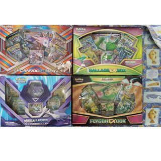 $25 EACH POKEMON GX EX BOX