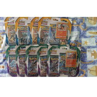 $16 EACH POKEMON BLISTER 3 PACK