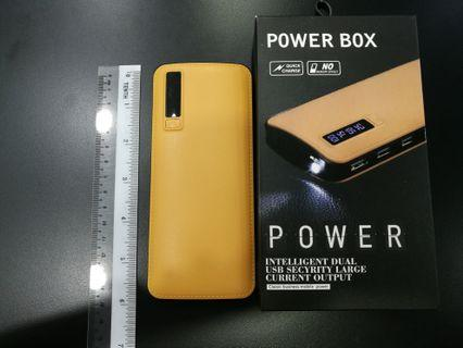 Power Bank (leather like casing)