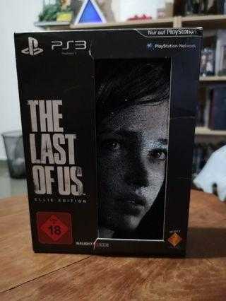TLOU The Last of Us Ellie Edition VERY RARE Limited Release Game