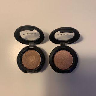 Mac eyeshadow (woodwinked & all that glitters)