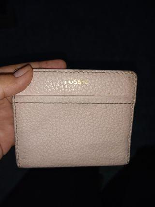 Dompet fossil peach