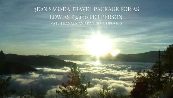 3D2N Sagada Travel Package for as low as P3,900 per person