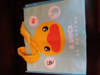 B.duck (Be Playful) 手提袋 (Size : 38闊 × 16深 × 32cm高)