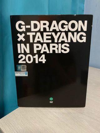BigBang GD x Taeyang in Paris