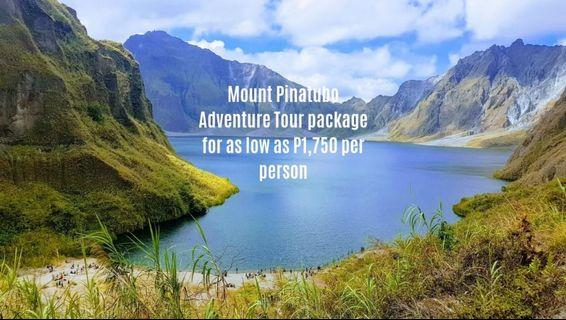 Mount Pinatubo Adventure Tour package for as low as P1,750 per person
