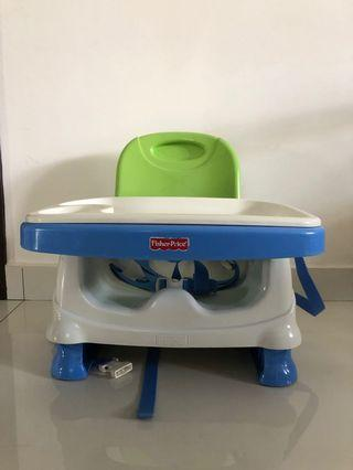 Fisher Price Baby Booster Chair and Ikea High Chair