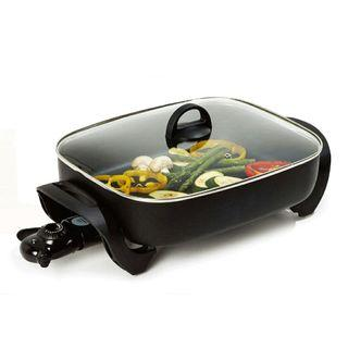 NEW Imported Electric Frying Grill Pan