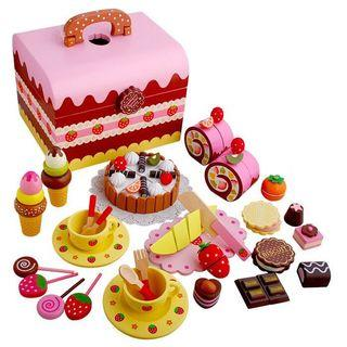 🚚 Wooden birthday party box (290)