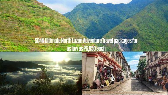 5D4N Ultimate North Luzon Adventure: Banaue/ Batad Rice Terraces + Sagada + Ilocos ( Laoag/ Vigan/ Pagudpud) Travel packages for as low as P6,950 each