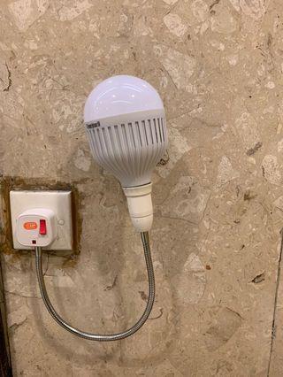 慳電膽 牆燈