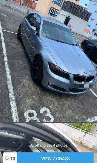 BMW 320i up for rental!