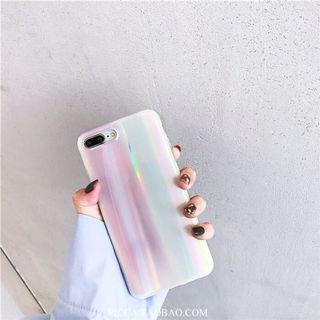 Holographic TPU soft case iPhone X/Xs