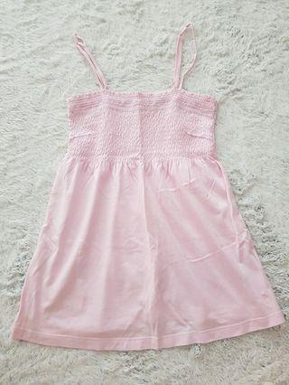 Esprit Sweet Pink Tube Top with Straps