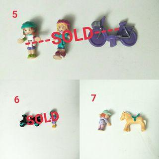 Vintage Polly Pocket dolls from $6