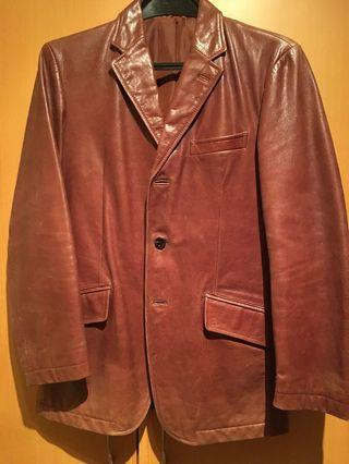 Leather Jacket chest about 100cm