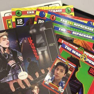 EXO The War Album (Sehun 卡)