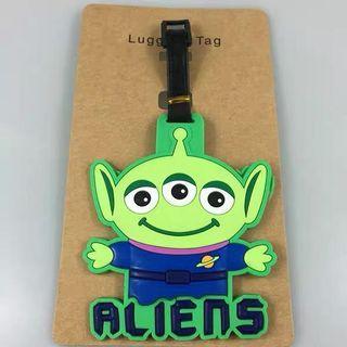 🚚 Toy Alien Luggage Tag