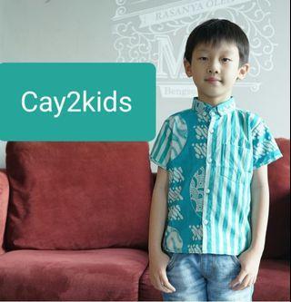 Batik Shirt For Kids