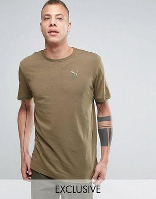 Puma x ASOS Oversized T Shirt in Khaki