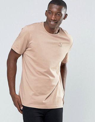 Puma x ASOS Oversized T Shirt in Beige