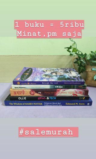 Buku 5ribuan #salemurah
