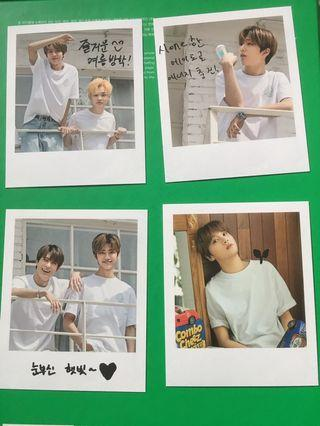NCT DREAM SUMMER VACATION KIT 2019 Polaroid