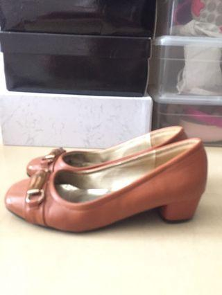 Calliope brown shoes