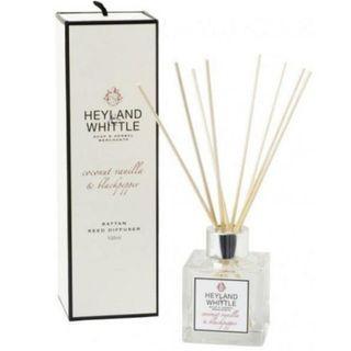 全新包順豐郵費 英國製造 Heyland & Whittle Coconut Vanilla & Blackpepper Reed Diffuser 椰子雲呢拿黑胡椒室內香薰