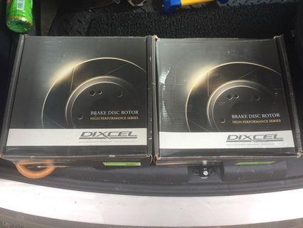 Dixcel SD rotors (Front & Rear)