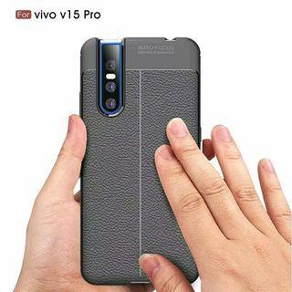 Case VIVO V15 PRO Case Leather Auto Focus Original
