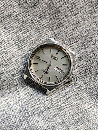 JDM Vintage Seiko Silverwave 8229-8000 for Parts or Repair