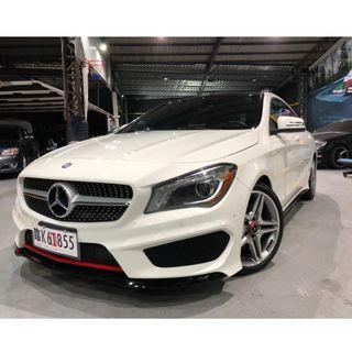 2015 CLA250 4MATIC AMG 白色 實車實價