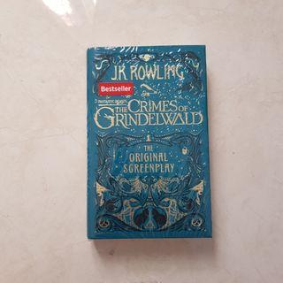 Fantastic beasts Crimes of Grindelwald HARD COVER