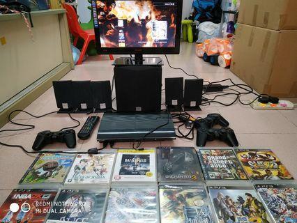 PS3, led idtv, Creative Sound System