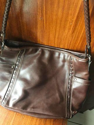 Original Relic by Fossil leather shoulder bag
