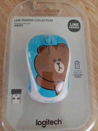 Logitech Line Friends Collection Wireless Mouse
