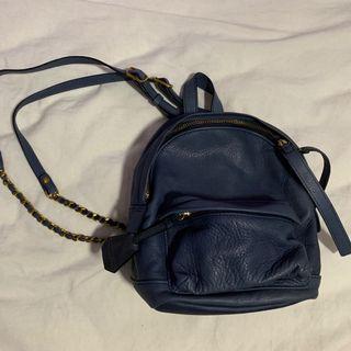 Rabeanco navy mini backpack