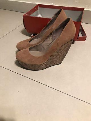 Glitter Wedges - Great condition !