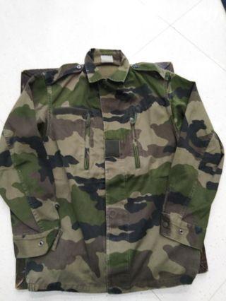 法軍迷彩衫