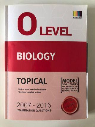 O Level Biology topical questions