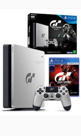 Sony PS4 PlayStation Gran Turismo Sport 1TB come with 5 games