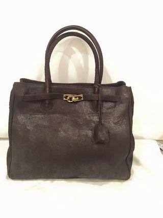 ❤️Francesco Rogani Vintage Style Leather Bag - Made in Italy 🇮🇹