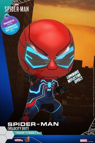 HotToys Marvel Cosbaby Velocity suit Spider man 蜘蛛俠