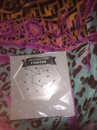 EXO Chanyeol Zodiac Coaster