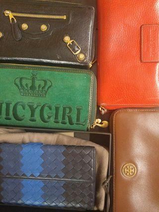 Various Branded Wallet (authentic)