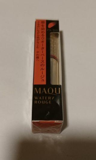 Maquillage 唇彩 watery rouge PK366 日本